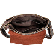 REID Men's Genuine Leather Shoulder Bag