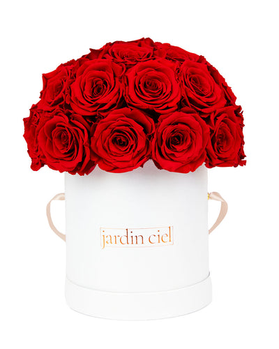 Infinity Rosebouquet | Romantic Red | Gr. Large - Jardin Ciel GmbH