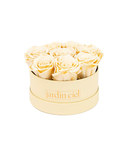 Infinity Rosebox | Champagner | Gr. Table Medium - Jardin Ciel GmbH