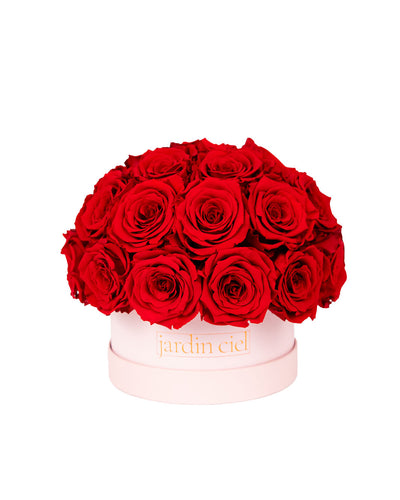 Infinity Rosebouquet Table Size | Romantic Red | Gr. Large - Jardin Ciel GmbH