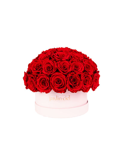 Infinity Rosebouquet Table Size | Romantic Red | Gr. Xtra Large - Jardin Ciel GmbH