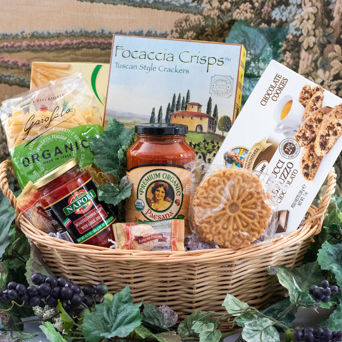 Sympathy Gift Baskets in Connecticut, Italian Gift Baskets