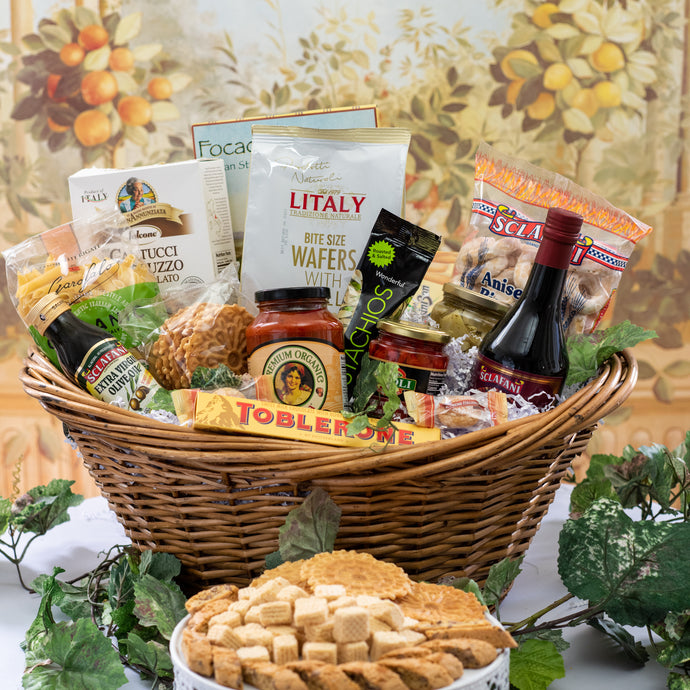 Italian Sympathy Gift Baskets in Connecticut