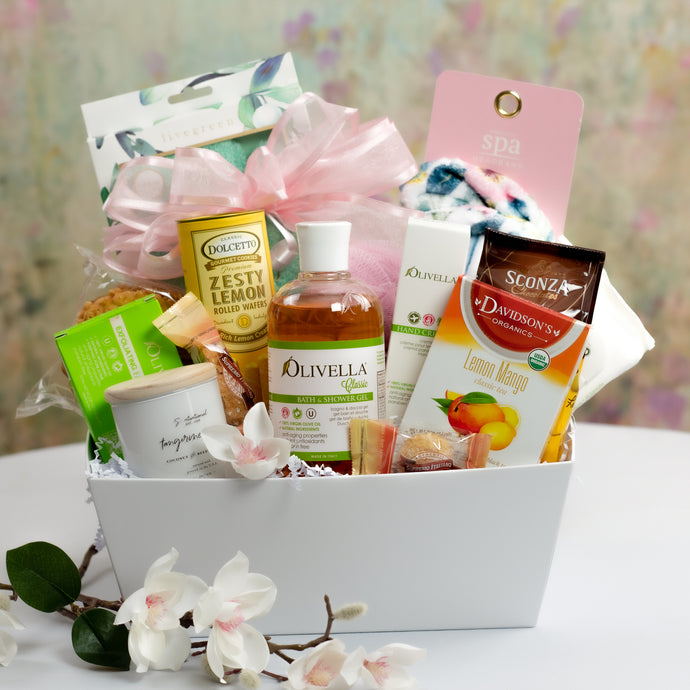 Pamper Baskets in Connecticut, Get Well Gift Baskets