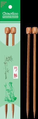 Straight Knitting Needles - Bamboo 23 cm (9