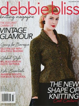 Debbie Bliss knitting magazine - Fall/Winter 2013