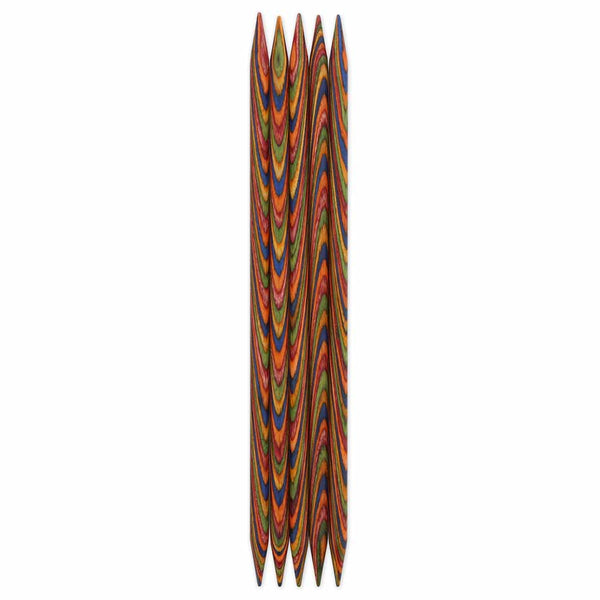 Double Point Knitting Needles 20cm (8″) - Set of 5 - 7mm