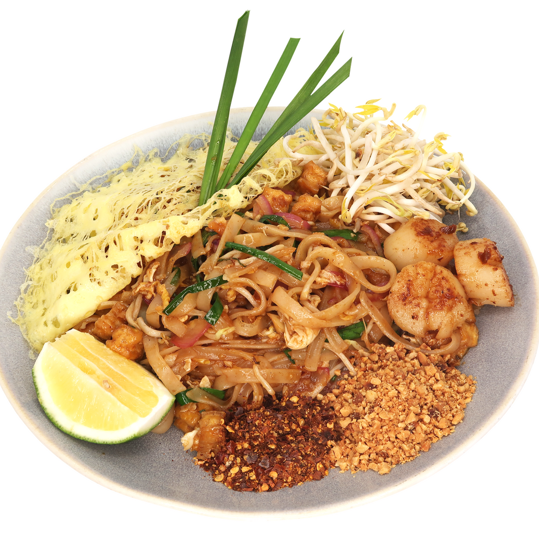 Phad Thai with Scallops