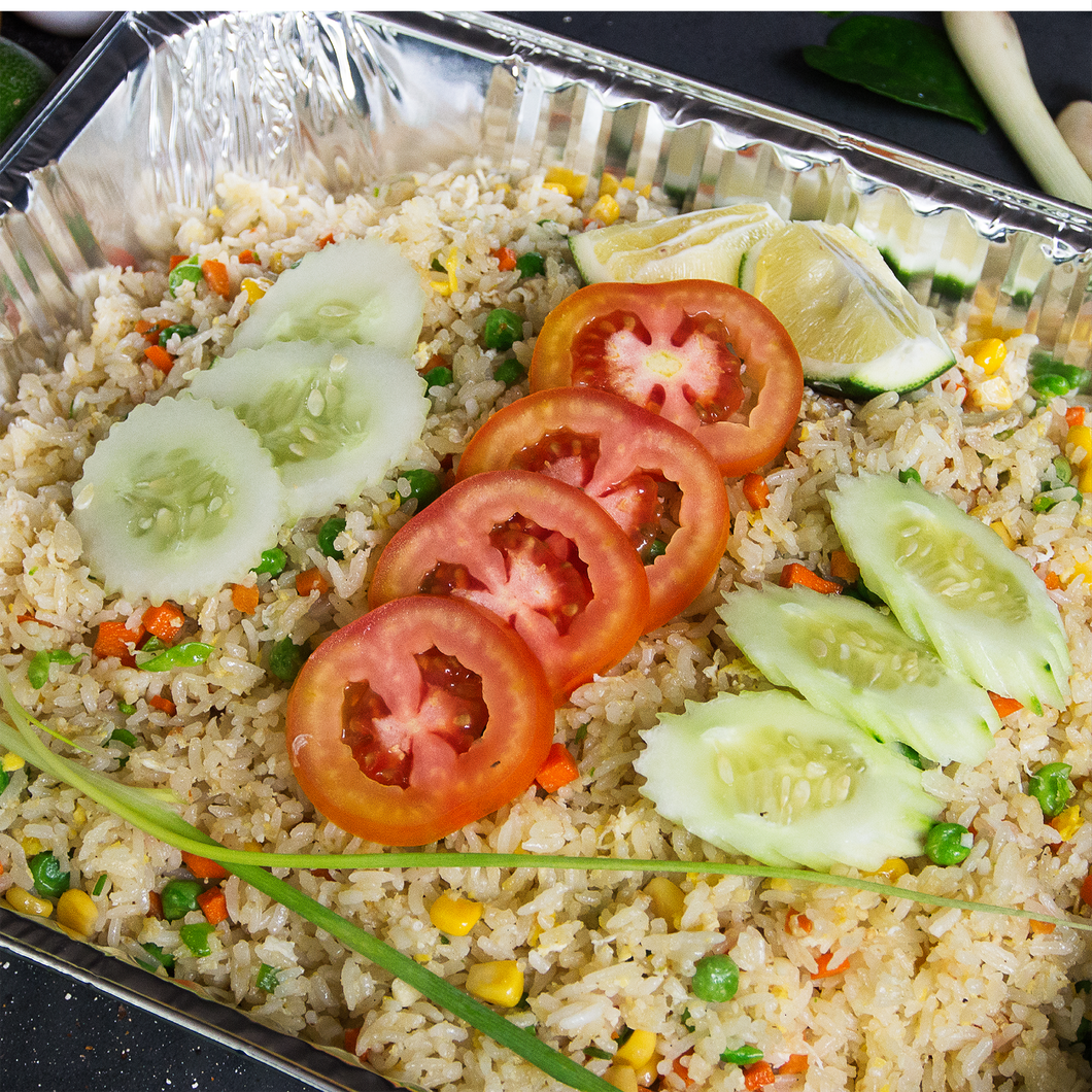 Egg Fried Rice Platter