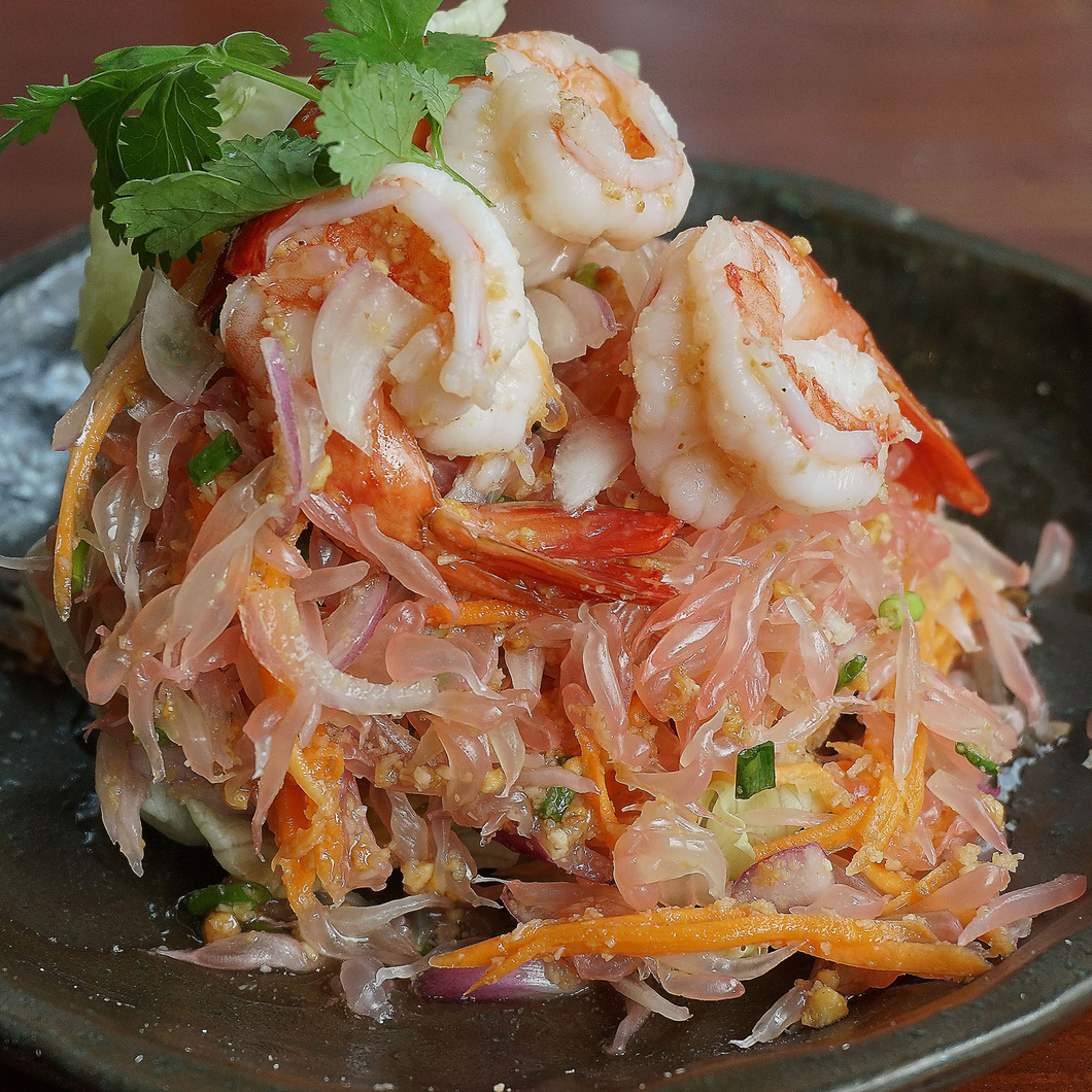 Pomelo Salad with Shrimp