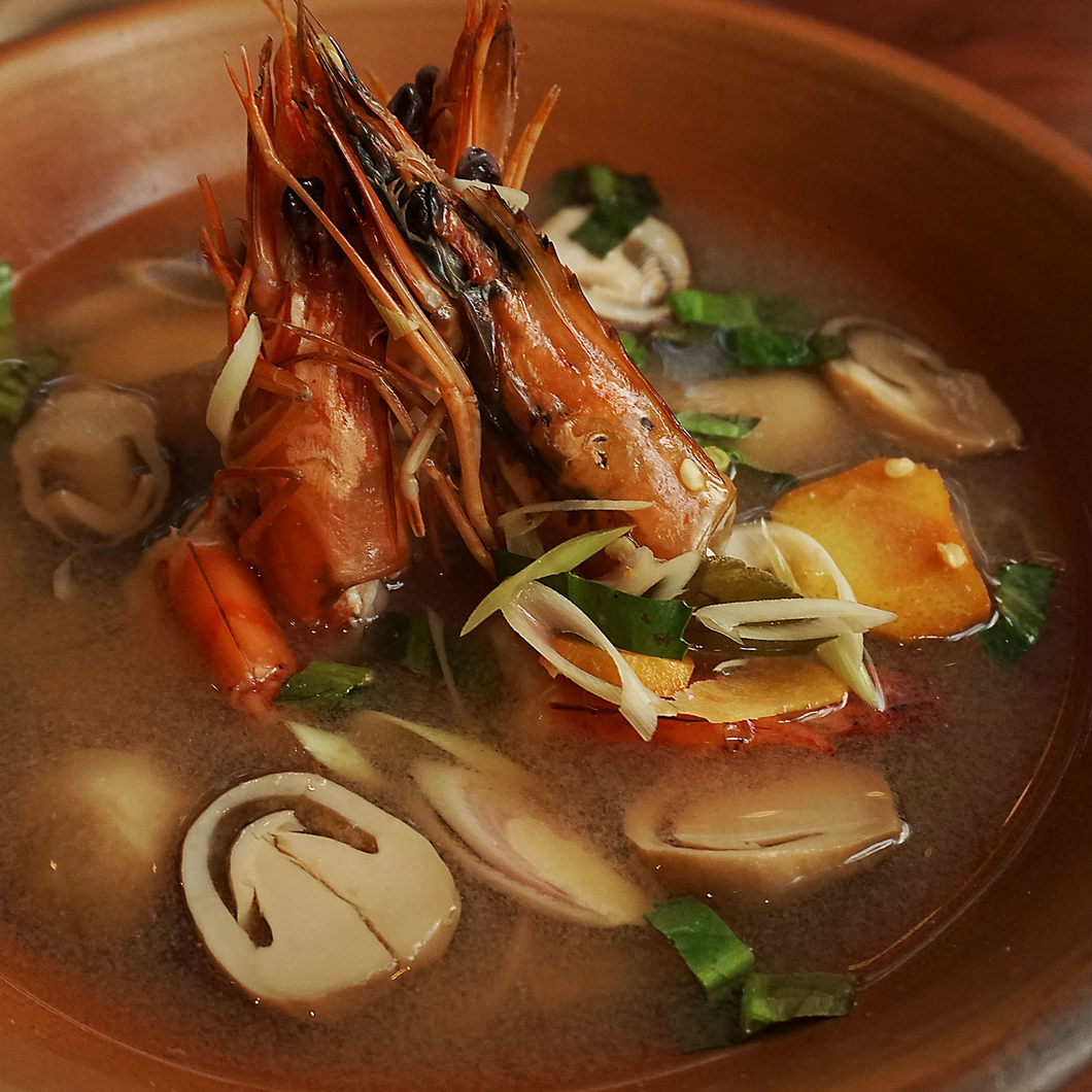 Tom Yum Shrimp Soup