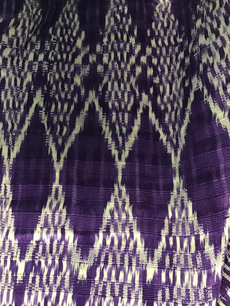 Light Purple Diamonds Shawl