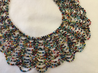 Multicolor Scalloped Necklace