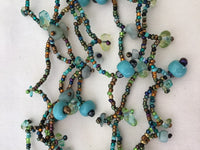 Turquoise/Green Magnetic Beaded Necklace