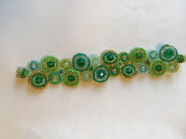 Green Magnetic Bracelet