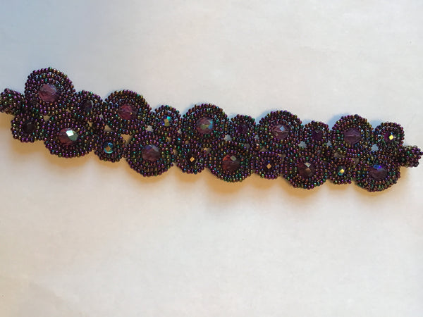 Purple Magnetic Bracelet