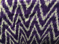 Light Purple Zig Zag Shawl