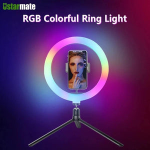 Llampë profesionale RGB Colorful Ring