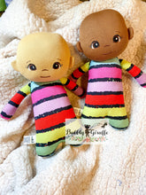 Load image into Gallery viewer, Color Stripe Mini Dolls