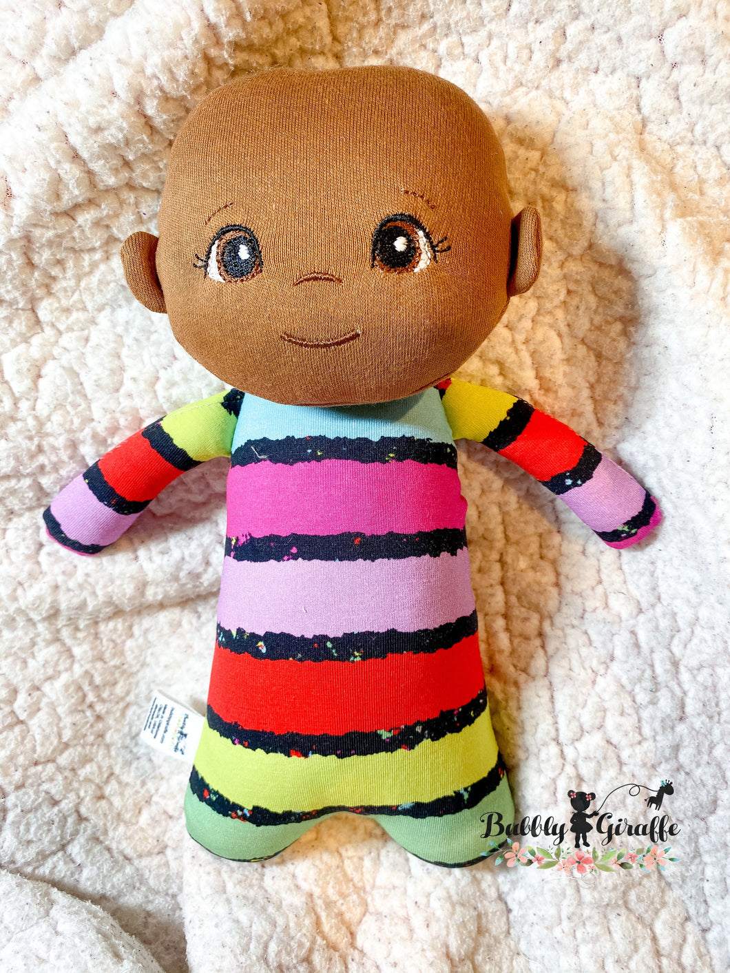Color Stripe Mini Dolls