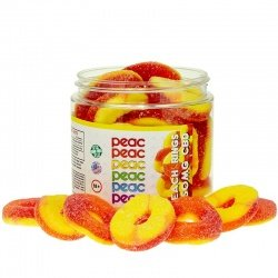 CBD + MELATONIN PEACH GUMMY RINGS - Peac Wellness