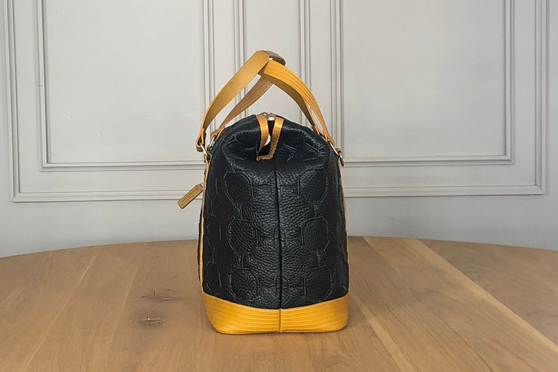 Bag - Fire and Hide Gladstone - Black and Yellow