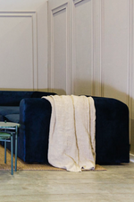 SHOP THE LOOK 2 _ Linen Throw - Natural on Natural