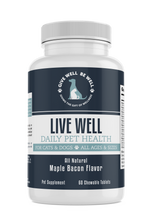 Load image into Gallery viewer, LIVE WELL - Daily Total Health Supplement for Pets - Sage & Barrel