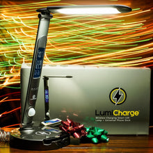 Load image into Gallery viewer, LumiCharge II- Premium LED Desk Lamp with Universal Phone Dock