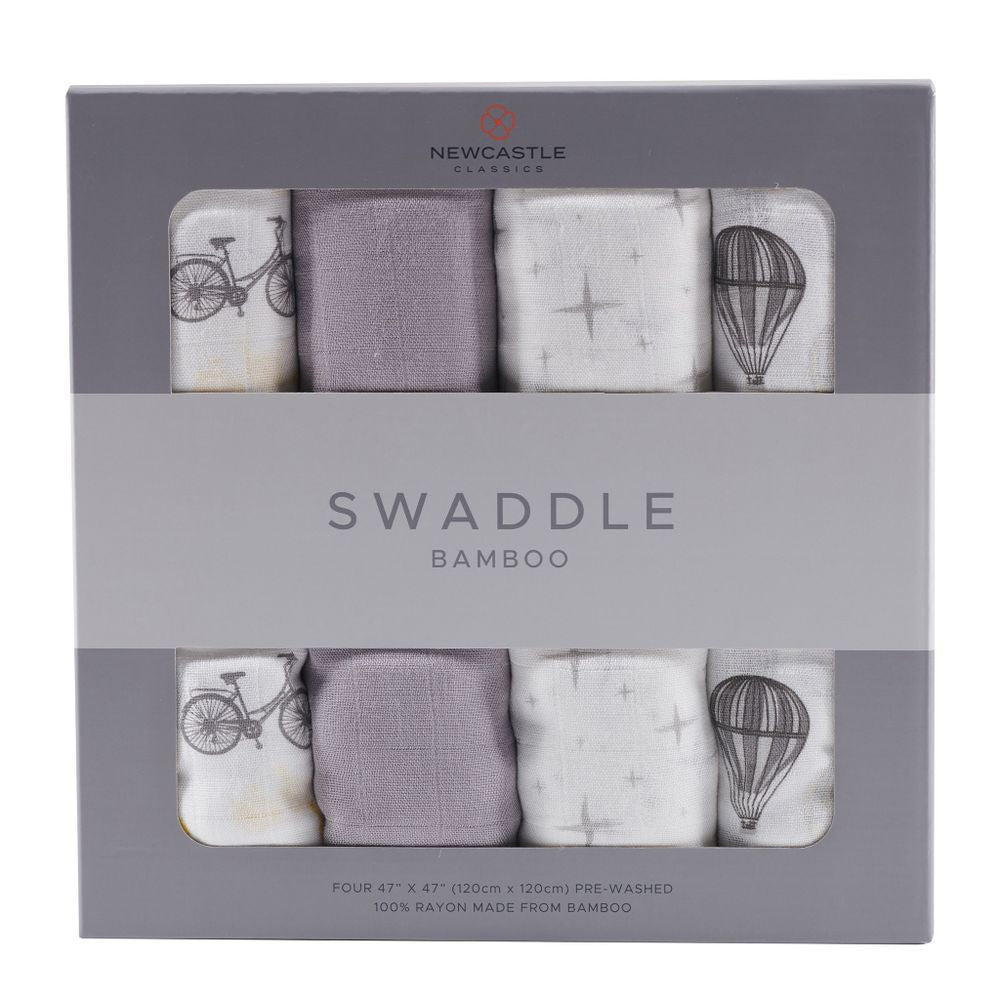 Traveler Swaddle Four Pack - Sage & Barrel