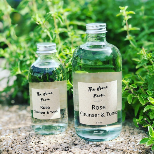 Rose Cleanser & Toner - Sage & Barrel