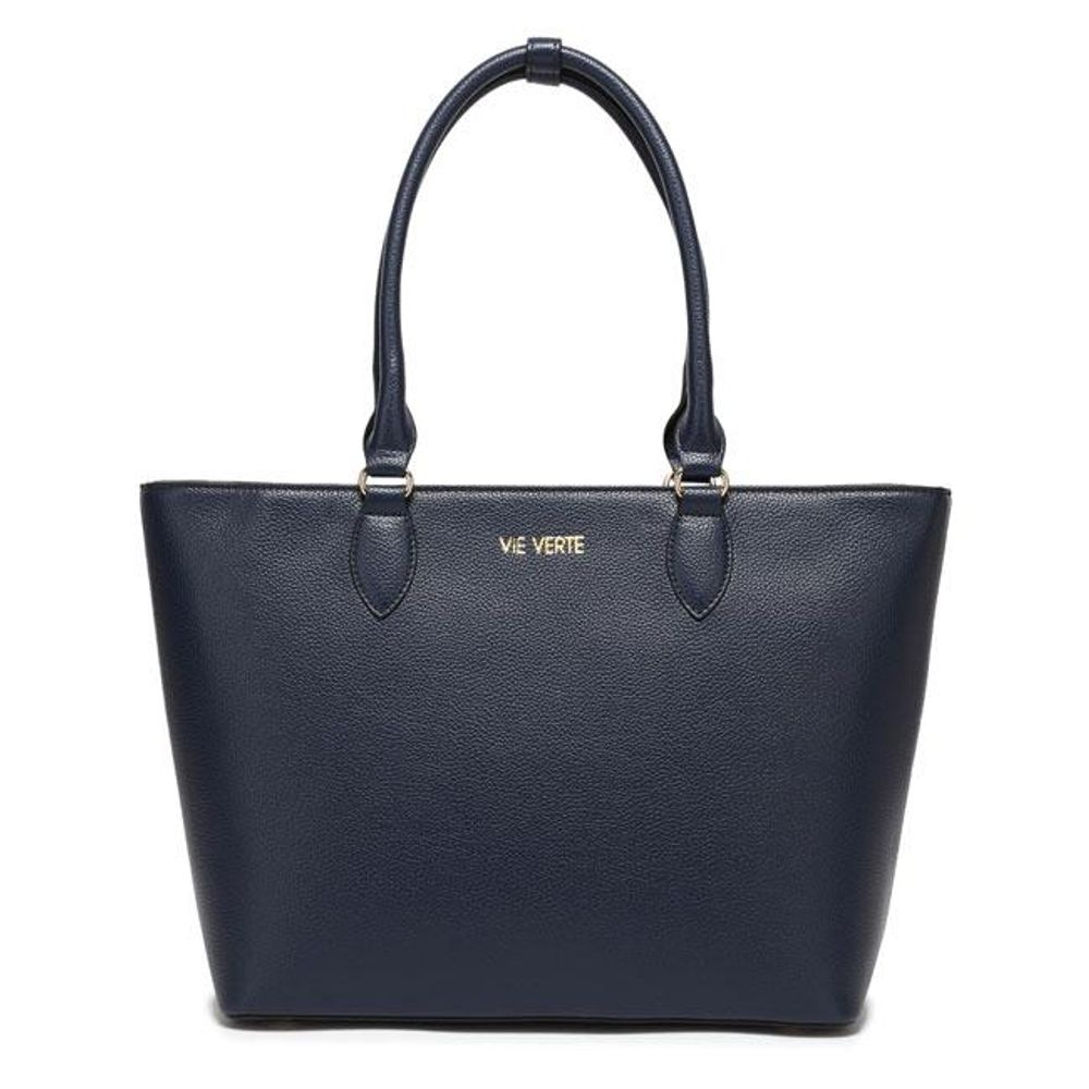 The Classic Tote - Navy Blue - Sage & Barrel