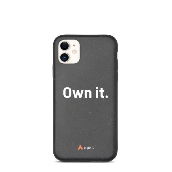 Own it – Biodegradable iPhone case