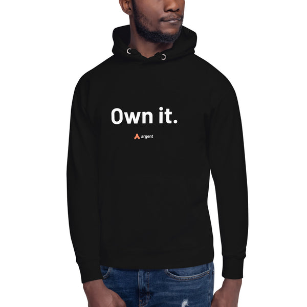 Own it – Hoodie (Black)