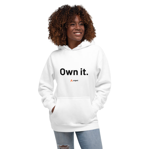 Own it – Hoodie (White)