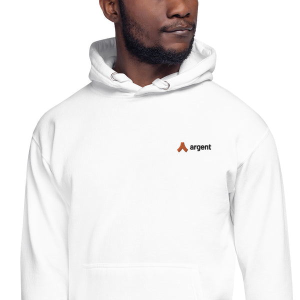 Embroidered Hoodie (White)