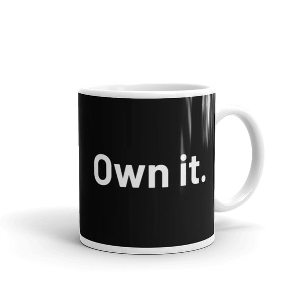 Own it mug – Black