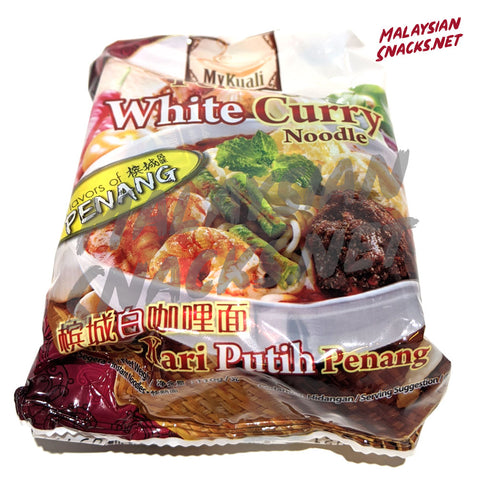 MyKuali White Curry Noodle (Pack of 4)