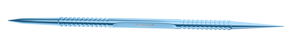 316R 9-060T Castroviejo Double-Ended Lacrimal Dilator, Size 1 & 2, Length 100mm, Titanium