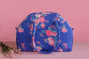 Big Tote – Blue & Peach Floral