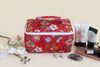 Cosmetic Bag – Red Flowers