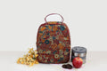 Lunch Bag (Zip Closure - B) - Multi Floral