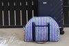 Big Tote – Navy Blue Stripes