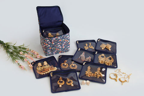 Earring Organiser - Blue Wonder