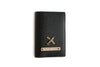 Black Passport Cover Personalized