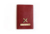 Unisex Faux Leather Personalized Passport Cover