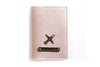 Passport cover – Rose gold (Textured)