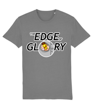 Load image into Gallery viewer, Bottle of poppers coming through glory hole on grey t-shirt