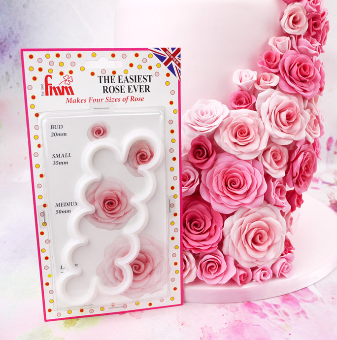 The Easiest Rose Ever cutter from FMM