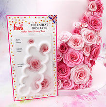 Load image into Gallery viewer, The Easiest Rose Ever cutter from FMM - FMM Sugarcraft